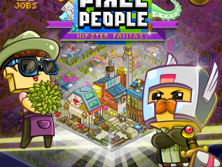Pixel People 'Hipster' Update is nowLive!