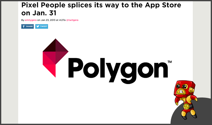 Polygon gives a heads up to PixelPeople